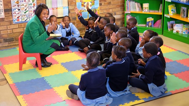 As a Child, Reading Meant Getting a Lashing if She Made a Mistake. Now Nomonde Ensures Fun, Safe Reading Experiences for Kids in South Africa