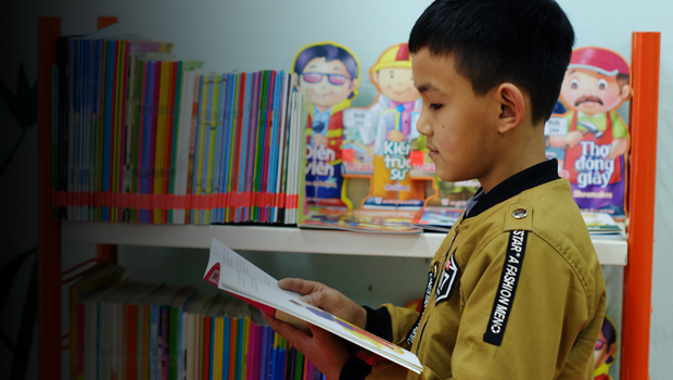 With 100 Books per Year, this Reading Star Soars