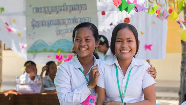 How These Two Cambodian Schoolgirls Became Inspiring Role Models for Other Girls — and Kept Them From Dropping Out