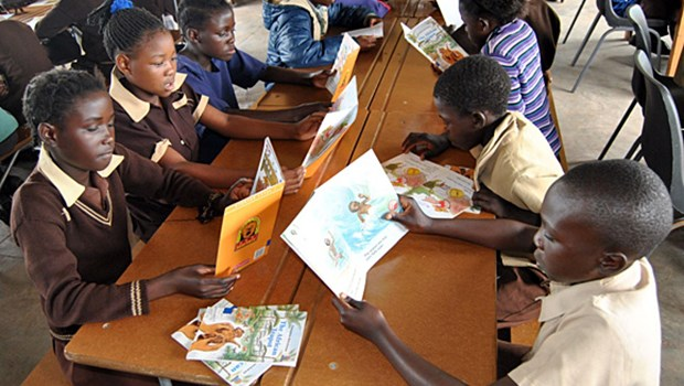 In Zambia, Westwood Basic School Builds a Habit of Reading by Bringing Parents to the Table