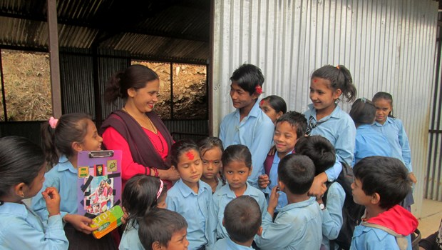 2 Years Post-Quake Nepali School Opens New Classrooms